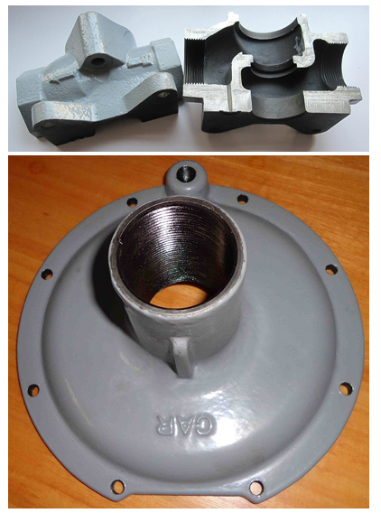 Valve Body Made Of Ductile Iron Material ASTM A395 Gr 60 40 18
